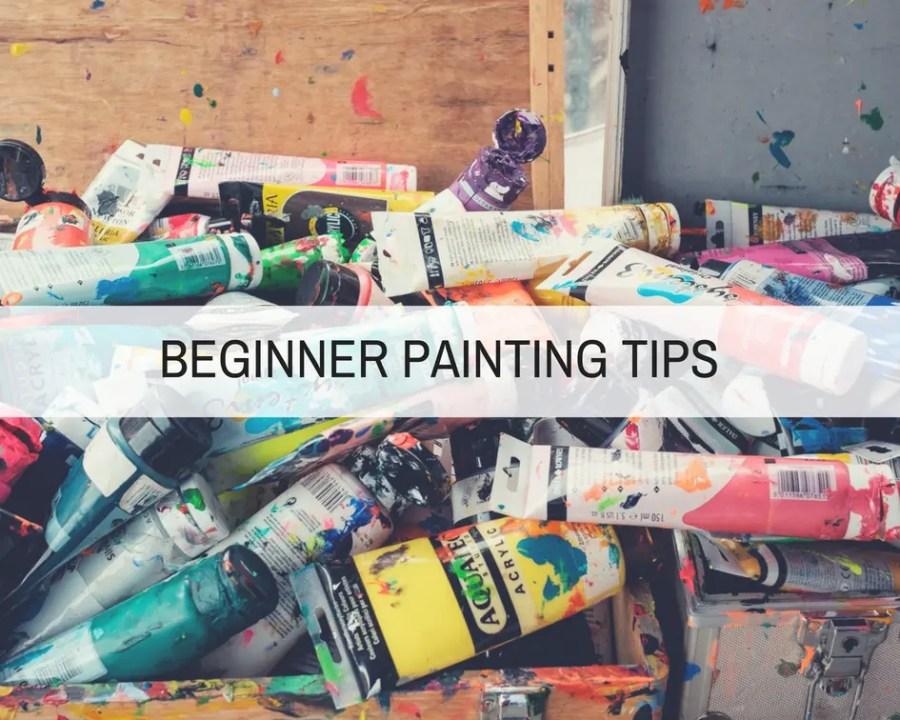 beginners painting tools