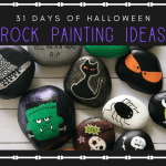 31 days of halloween rock painting ideas 1 - 31 Days of Halloween Rock Painting Ideas