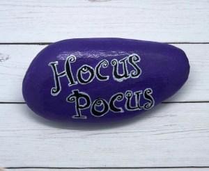 hand lettering rocks