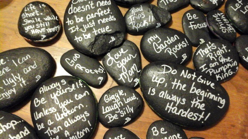 quotes on rocks