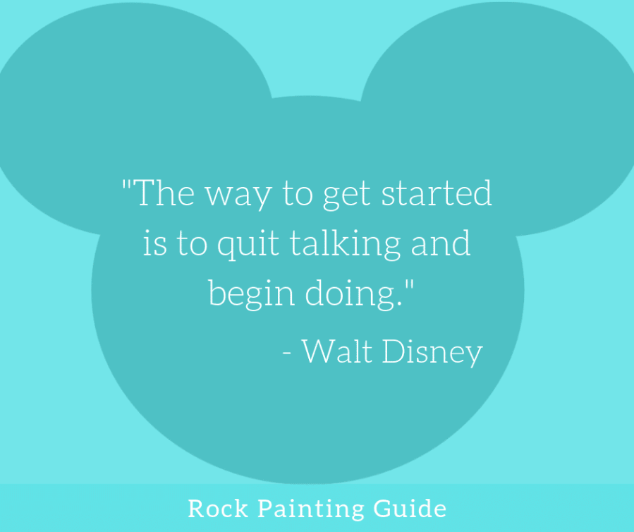 Walt Disney quotes about getting things done