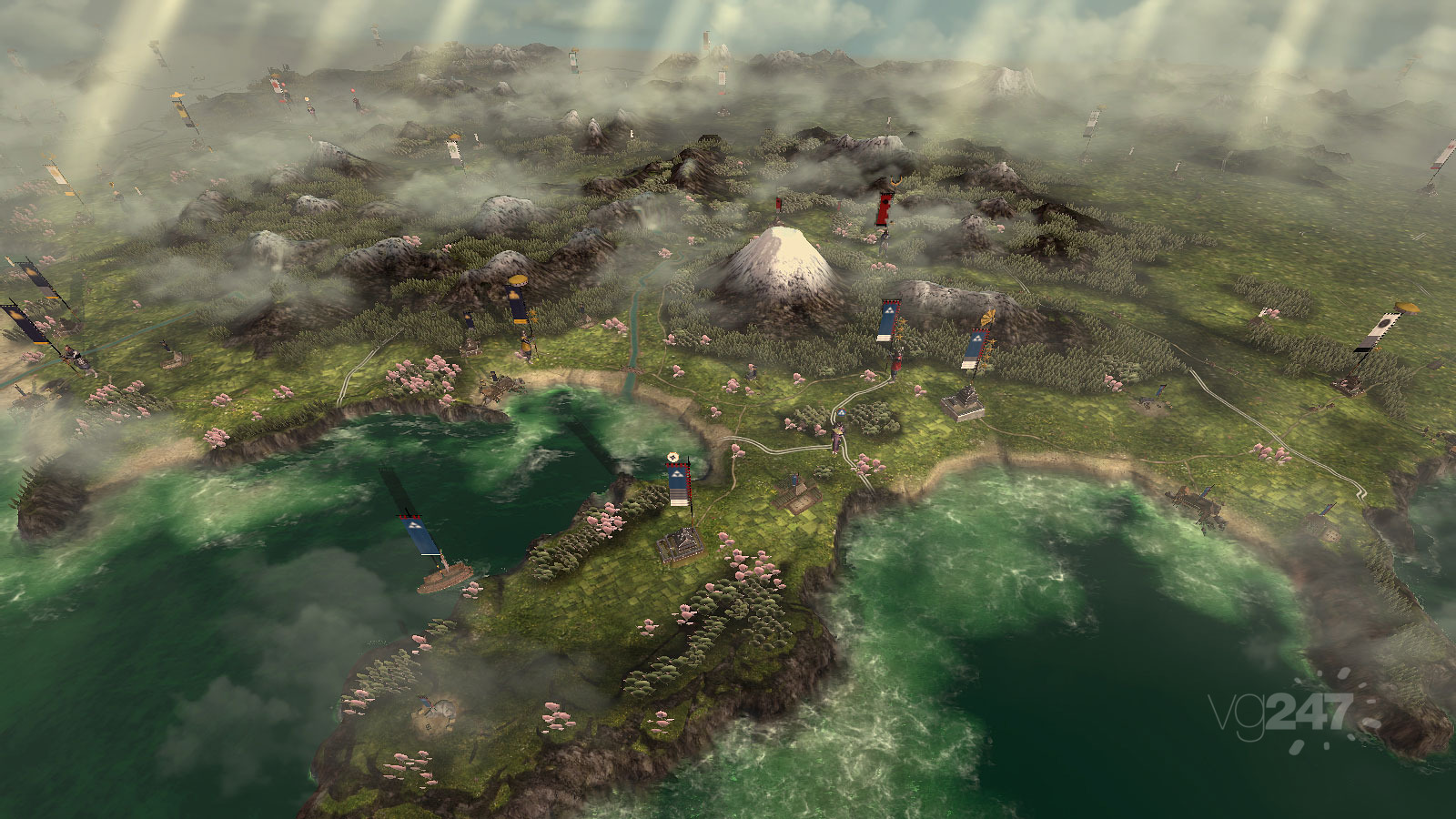 Shogun 2 Fall Of The Samurai Wallpaper Sho Amp Tell Shogun 2 Campaign Map Reveal Rock Paper