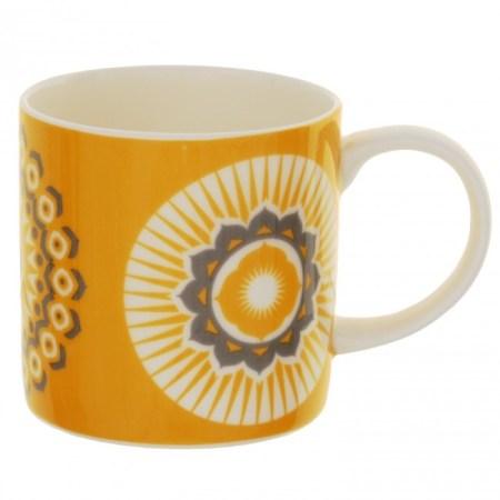 Image of the Mustard Straight Sided Mug