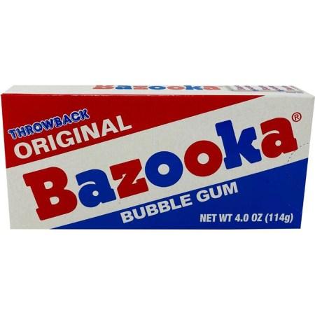 Image of Bazooka Bubblegum Throwback packaging