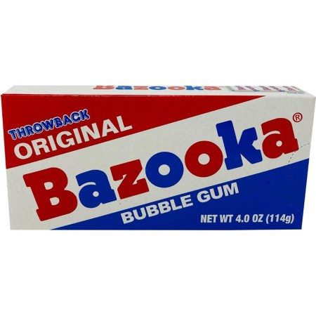 Image of Bazooka Bubblegum Throwback packaging
