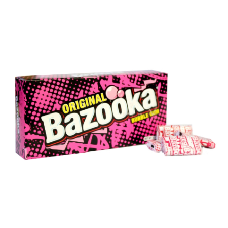 Image of a box of Bazooka Bubblegum