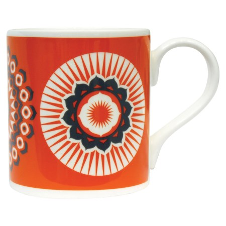 Image of the Tangerine Dream Orange Straight Sided Mug