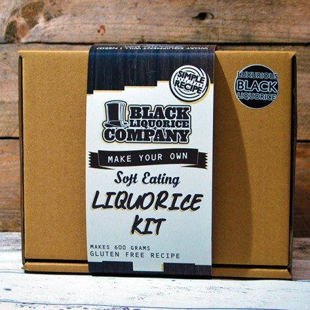 Image of a make your own original liquorice kit. From the Black Liquorice Company.