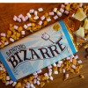 Image of the Banging Bizarre Chocolate Bar. Cinder toffee, marshmallow, popping candy and white chocolate bar.