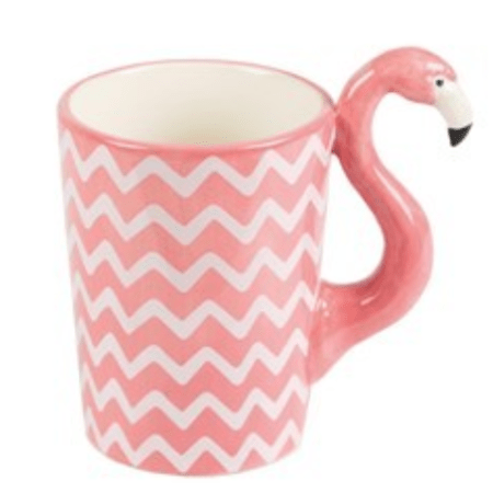 Image of Ziggy Chevron Flamingo Mug