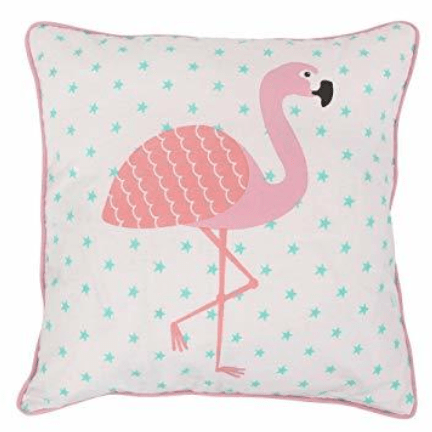 Image of the flamingo cushion