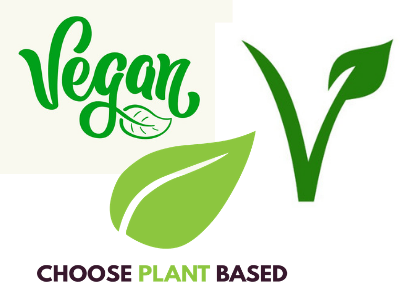 Image of the vegan veggie logo