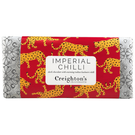 Image of the imperial chilli chocolate bar