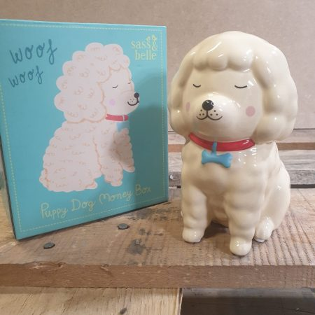 Image of the poodle money box
