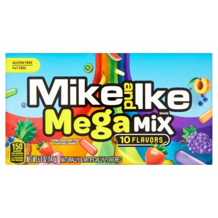 Image of a box of mike and ike mega mix