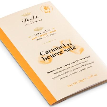 Image of the Dolfin Salted Butter Caramel bar