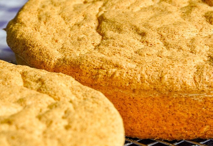 The Best Homemade Old Fashioned Sponge Cake