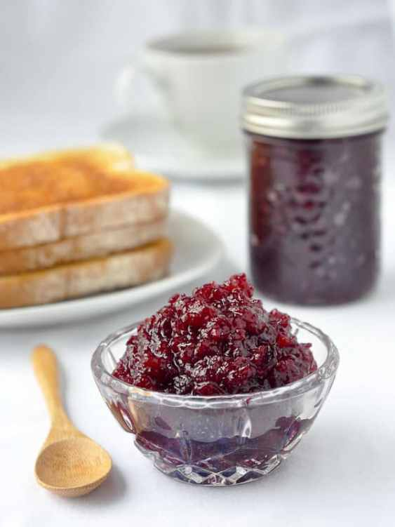 Partridgeberry Apple Jam or Cranberry Apple Jam