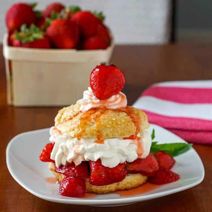 Perfect Strawberry Shortcake