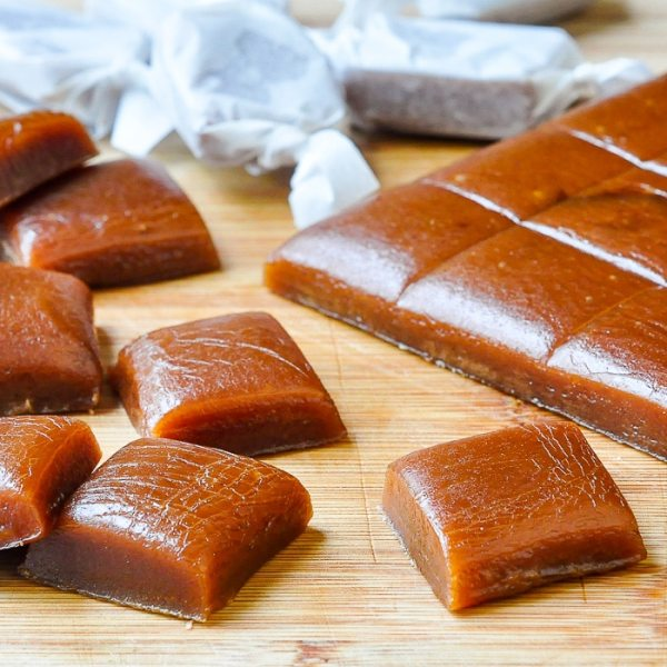 Homemade Chewy Caramels Maybe the easiest caramel candy ever!