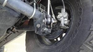 JKS Rear Shock Relocation for Jeep Wrangler JK, 20072015