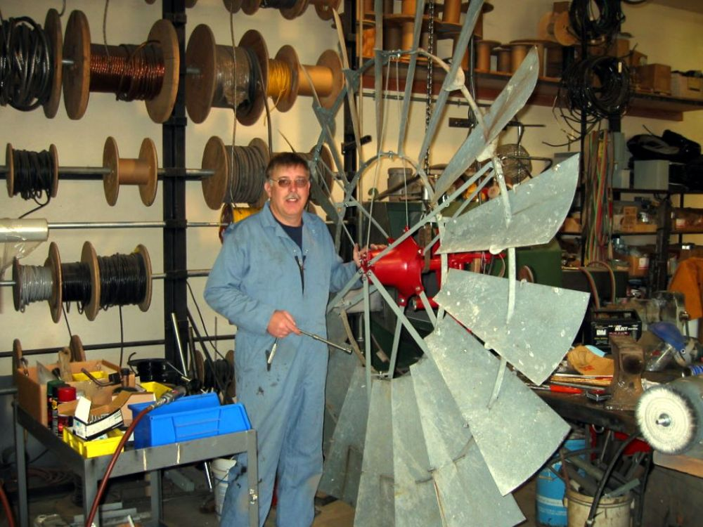 medium resolution of repairing a old aemotor windmill rock ridge windmills
