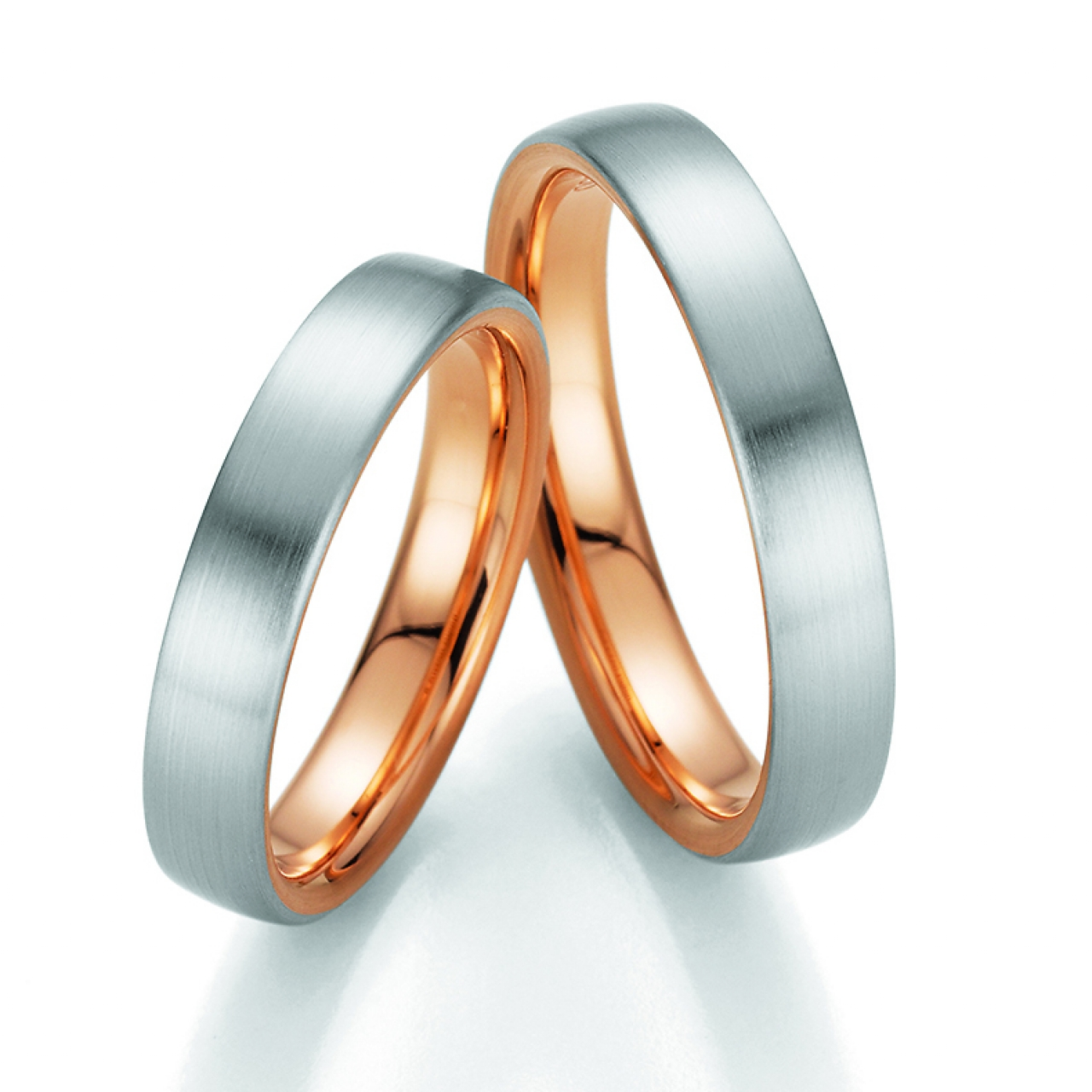 Wedding rings fischer bicolor wedding ring from the