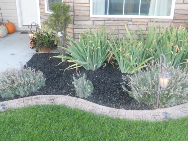 rubber mulch landscaping - wolverine