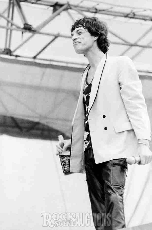 Mick Jagger 1978 - Rock Scene Auctions