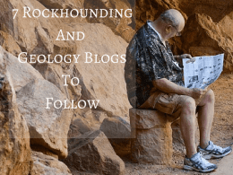 best rock collecting blogs and geology blogs