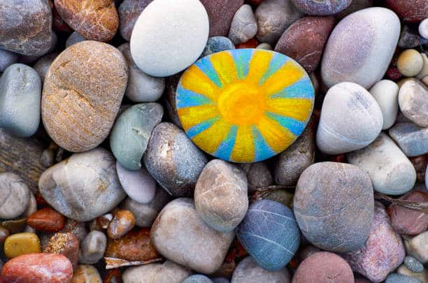 rock painting how to