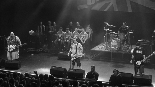Bowling For Soup on stage at The Forum Kentish Town