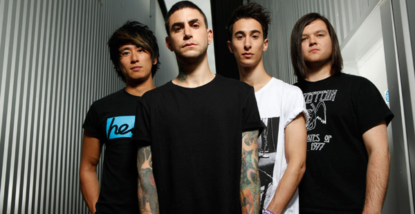 Modestep band photo 2012
