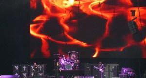 Black Sabbath on stage at Donington Park, Download Festival 2012
