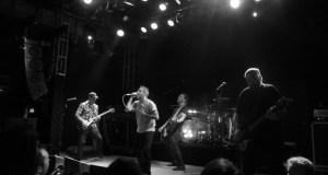 Boysetsfire on stage at Islington Academy London August 2012