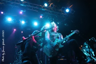 Fozzy on stage at London's Electric Ballroom Dec 2012 - Photo 1
