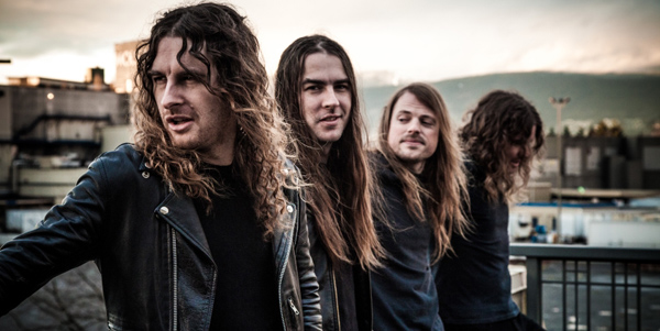 Airbourne Band Photo