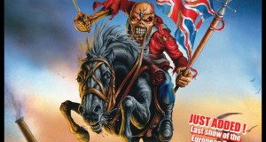 Iron Maiden Maiden England O2 August 2013 Show Poster