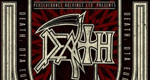 Death 2013 Tour Poster Logo Header