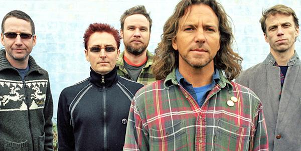 Pearl Jam Band Photo