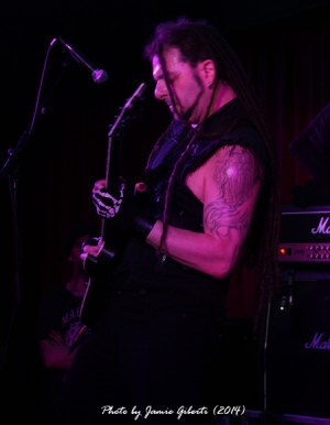 Breed77 guitarist Danny Felice, The Borderline, London, March 2014