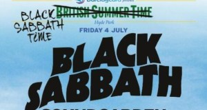 Black Sabbath British Summer Time Festival 2014 Poster Header