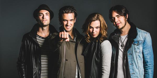 Halestorm 2015 Band Promo Picture