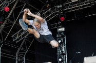 Hacktivist on stage at Hevy Fest 2015