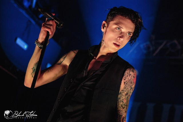 Andy Black on stage at KOKO London 20th May 2016