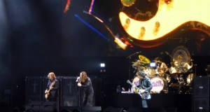 Black Sabbath on stage at Download Festival 2016