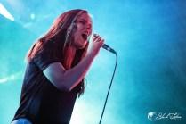 Destiny Potato on stage at UK Tech-Metal Fest 2016 9th July 2016
