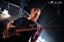 Harbinger on stage at UK Tech-Metal Fest 2016 8th July 2016