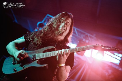 Textures on stage at UK Tech-Metal Fest 2016 10th July 2016
