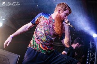 The Schoenberg Automaton on stage at UK Tech-Metal Fest 2016 9th July 2016